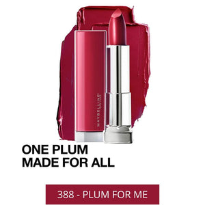 Maybelline Color Sensational Made For All Lipstick 388 - PLUM FOR ME