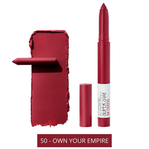 Maybelline Superstay Ink Crayon 50 - Own Your Empire