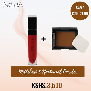 Nouba Millebaci & Noubamat Powder Foundation