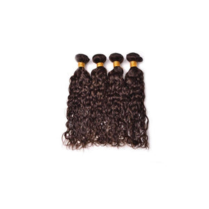 18 Inches Natural Wavy Human Hair Weave Bundle color 2