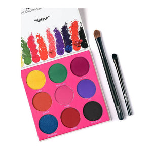 Zaron 9 In 1 Eyeshadow Palette - SPLASH