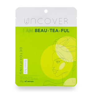 Uncover Green Tea Detoxifying Sheet Mask - I am Beau-tea-ful