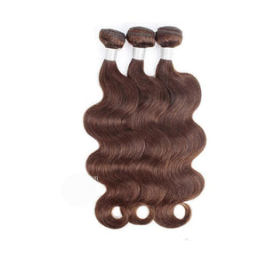 18 Inches Body Wavy Human Hair Weave Bundle Color 2