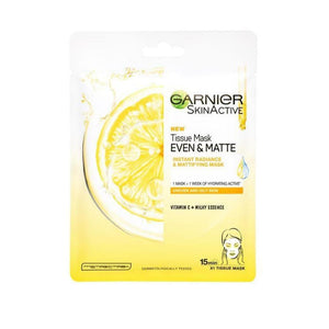 Garnier Even and Matte Tissue Mask