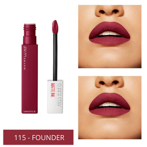 Maybelline Superstay Matte Ink Liquid City Edition - 115 FOUNDER
