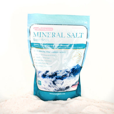 Himalayan Salt Bath Mineral Soak (2lb Bag)