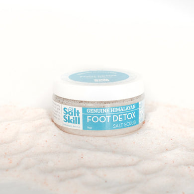 Himalayan Salt Foot Detox (9oz Jar)