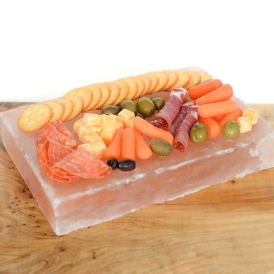 Himalayan Salt Curing & Serving Plate (Large)