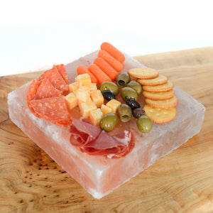 Himalayan Salt Curing & Serving Plate (Square)