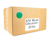 25 lb UV Glow Box - Bulk UV Color Powder