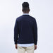 Cotton Cashmere Crew - Navy