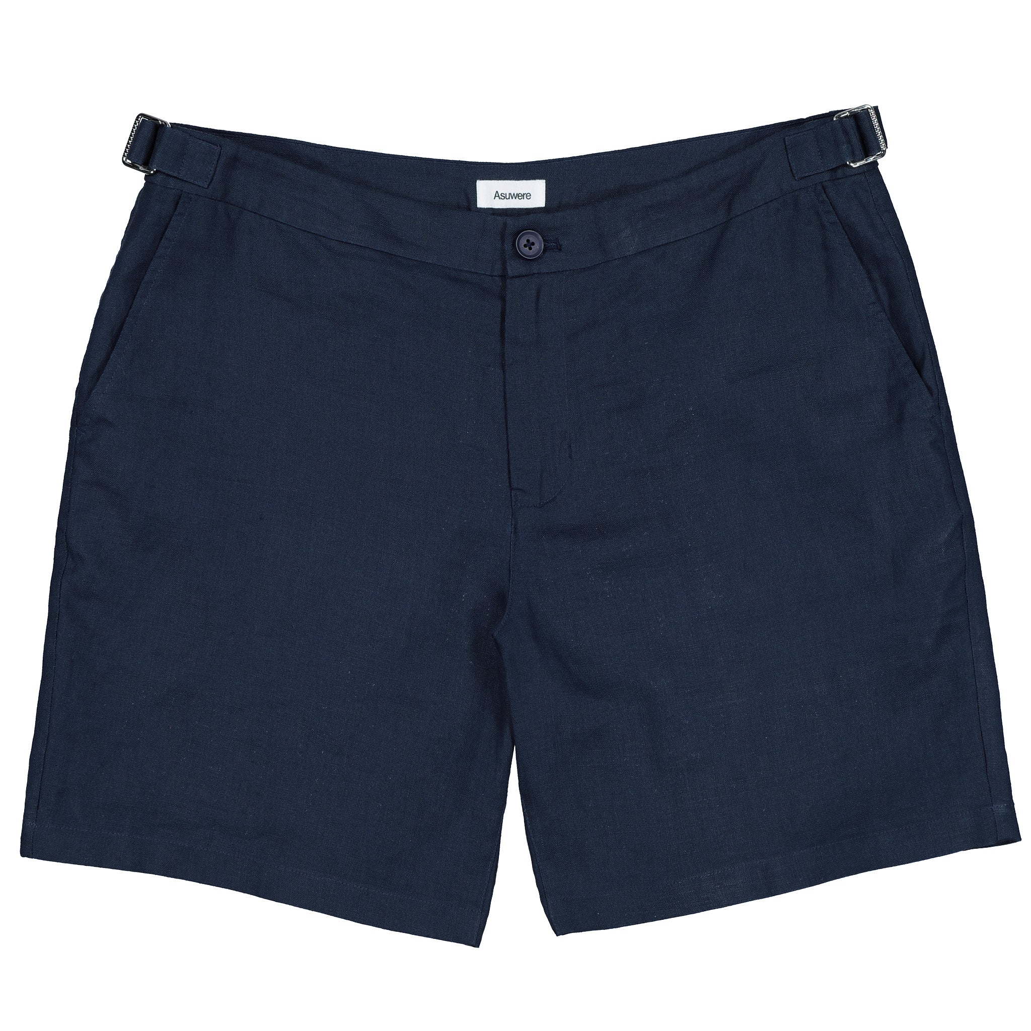 Essential Linen Short - Navy
