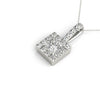 Halo Princess Platinum Pendant