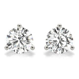 1.50 CT. TW. 14K White Gold Lab-Grown Martini Studs