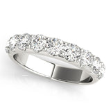 9-Stone Band Round Platinum