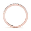 5-Stone Band Round 14K Rose Gold