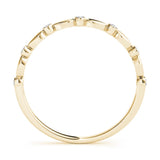 Stackable Round 14K Yellow Gold Band