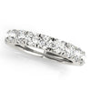 11-Stone Band Round 14K White Gold