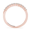 11-Stone Band Round 14K Rose Gold