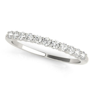 11-Stone Band Round Platinum