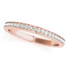 7-Stone Band Round 14k Rose Gold