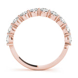 10-Stone Band Round 14K Rose Gold