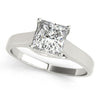 Solitaire Princess Platinum Engagement Ring