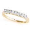 7-Stone Band Round 14K Yellow Gold