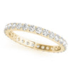 Eternity Round 14K Yellow Gold Band