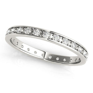 Eternity Round Platinum Band