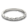 Stackable Round 14K White Gold Band