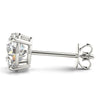 2 CT. TW. 14K White Gold Moissanite Studs