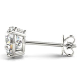 1.25 CT. TW. 14K White Gold Lab-Grown Four Prong Studs