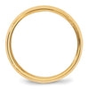Men's 14K Yellow Gold Bevel Edge Comfort Fit Band (From 4mm to 6mm)