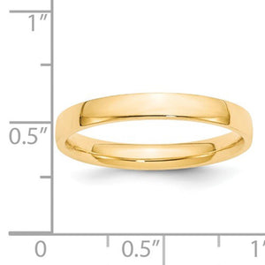 Women's 14K Yellow Gold Comfort Fit Band (From 2mm to 4mm)