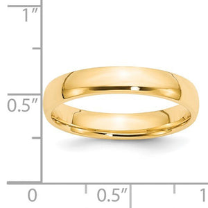 Men's 14K Yellow Gold Comfort Fit Band (From 3mm to 8mm)