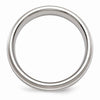 Men's Titanium 7mm Titanium With Sterling Silver Inlay Brushed Band