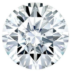 Round Super-Premium Colorless (DEF) Moissanite