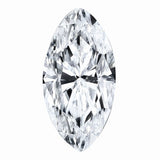 Marquise Super-Premium Colorless (DEF) Moissanite