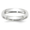 Women's 14K White Gold Comfort Fit Band (From 2mm to 4mm)