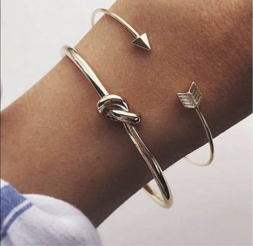 Arrow and Knot Bracelets