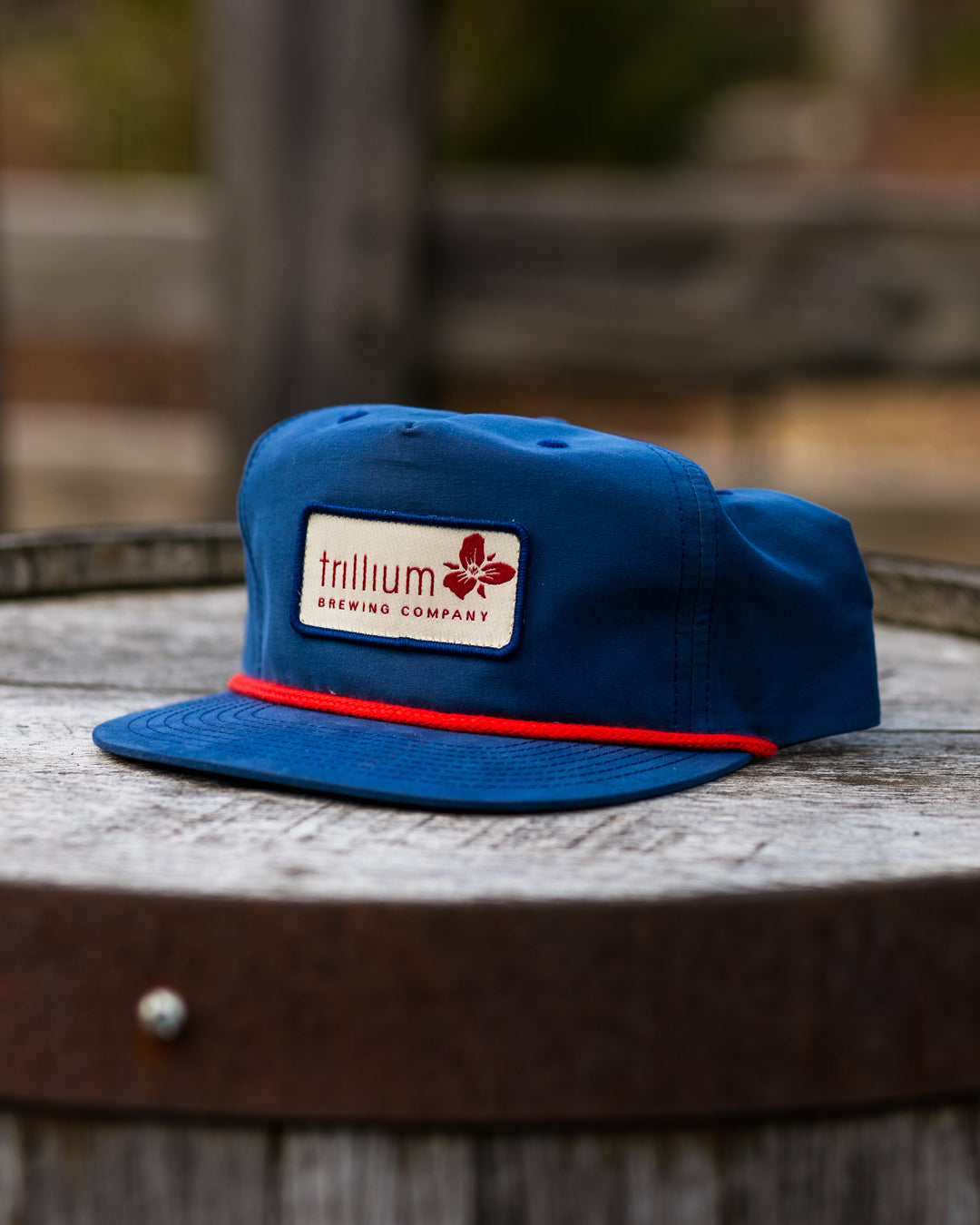 Blue Rope Logo Hat