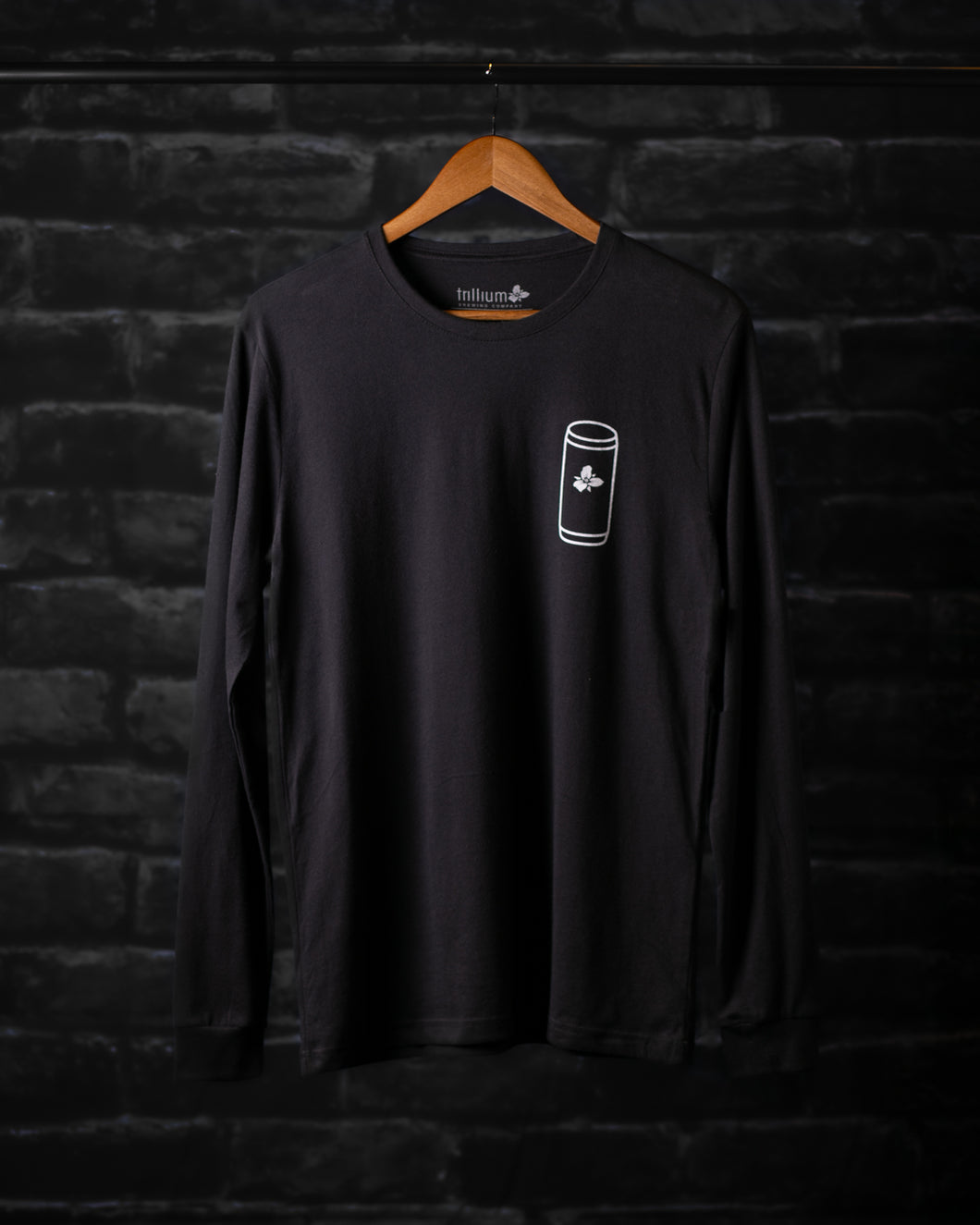Men's Long Sleeve Can Tee