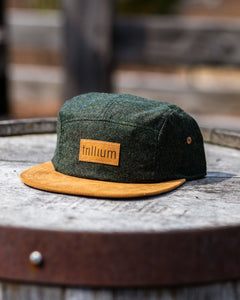 Herringbone 5-Panel Hat