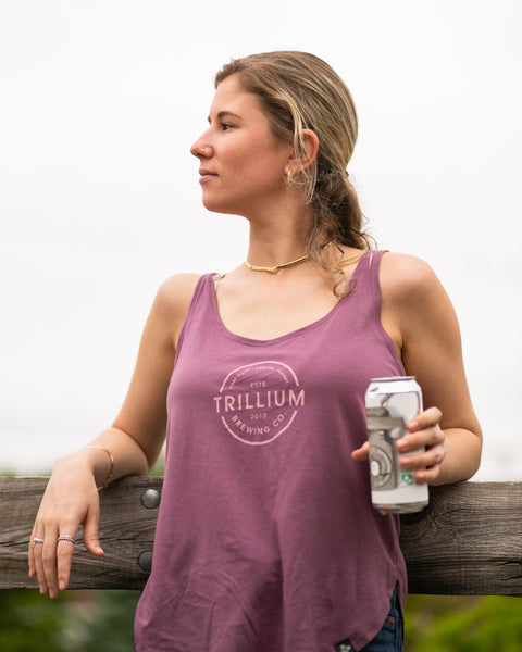 Women's Shiraz Circle Logo Tank Top