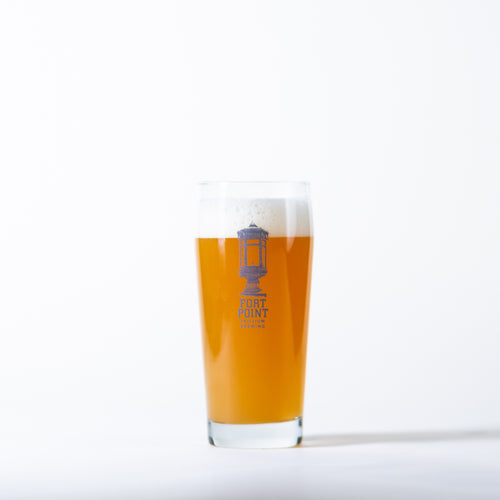 Trillium Brewing Fort Point Pub Glass