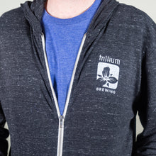 Load image into Gallery viewer, Trillium Brewing Logo Lightweight Zip-Up Sweatshirt