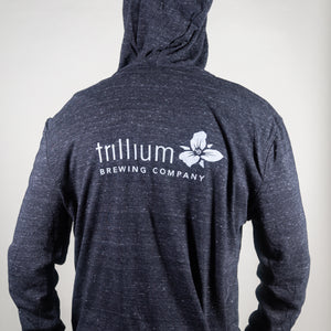 Trillium Brewing Logo Lightweight Zip-Up Sweatshirt