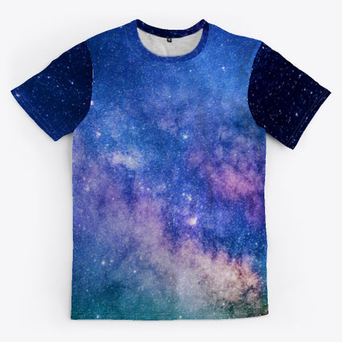 Galaxy in Space all-over printed t-shirt