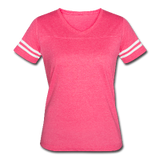 Customizable Women's Vintage Sport T-Shirt add your own photos, images, designs, quotes, texts and more